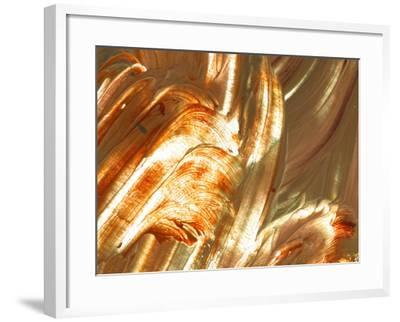 Close-up of Bright Colorful Paint Smears--Framed Photographic Print