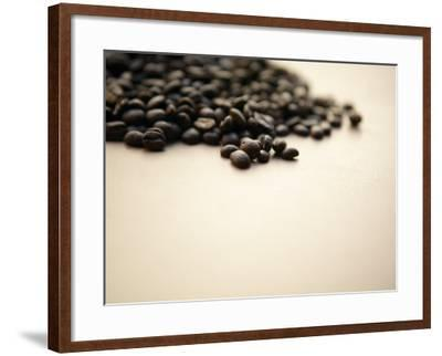 Pile of Coffee Beans--Framed Photographic Print