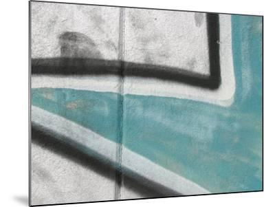 Close Up of Graffiti Mural on Concrete Wall--Mounted Photographic Print