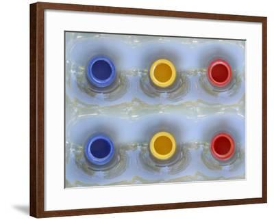 Close-Up of a Swimming Pool Flotation Raft--Framed Photographic Print
