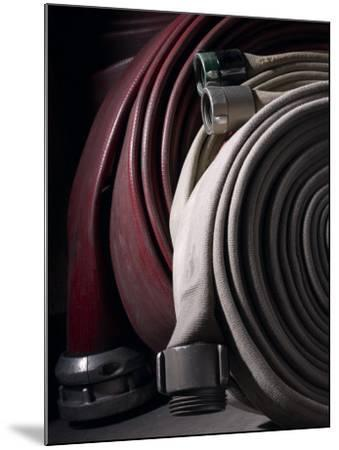 Coiled Fire Hoses--Mounted Photographic Print