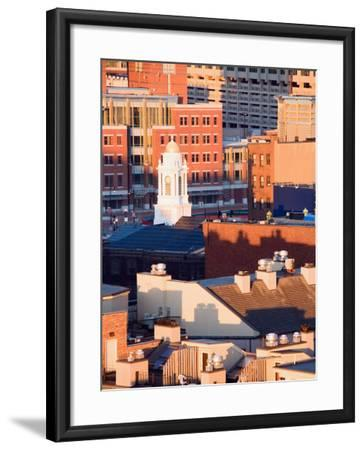 Buildings and High Rises in Boston, Massachusetts--Framed Photographic Print