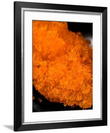 Traditional Asian Cuisine of Raw Fish Made into Sushi Rolls--Framed Photographic Print