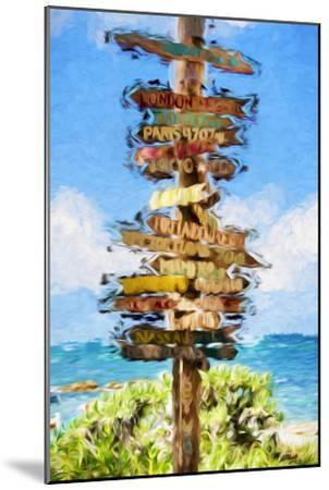 Destinations II - In the Style of Oil Painting-Philippe Hugonnard-Mounted Giclee Print