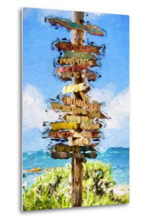 Destinations II - In the Style of Oil Painting-Philippe Hugonnard-Metal Print