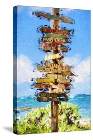 Destinations II - In the Style of Oil Painting-Philippe Hugonnard-Stretched Canvas Print