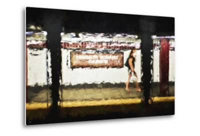Madison Square Garden - In the Style of Oil Painting-Philippe Hugonnard-Metal Print