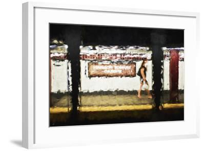 Madison Square Garden - In the Style of Oil Painting-Philippe Hugonnard-Framed Giclee Print