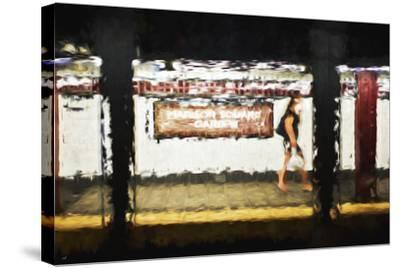 Madison Square Garden - In the Style of Oil Painting-Philippe Hugonnard-Stretched Canvas Print