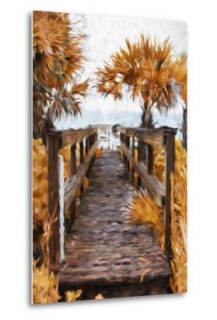 Autumn Plants - In the Style of Oil Painting-Philippe Hugonnard-Metal Print