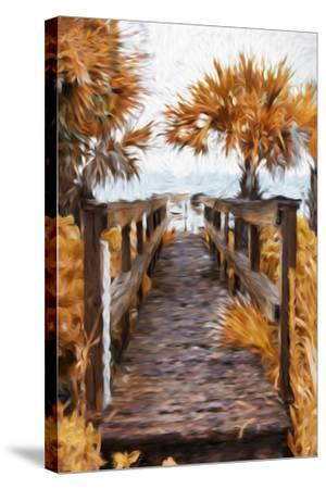 Autumn Plants - In the Style of Oil Painting-Philippe Hugonnard-Stretched Canvas Print