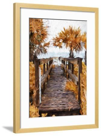 Autumn Plants - In the Style of Oil Painting-Philippe Hugonnard-Framed Giclee Print