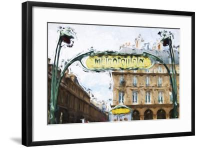 Metropolitain - In the Style of Oil Painting-Philippe Hugonnard-Framed Giclee Print