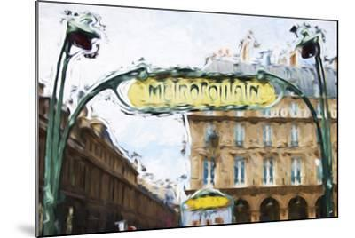 Metropolitain - In the Style of Oil Painting-Philippe Hugonnard-Mounted Giclee Print