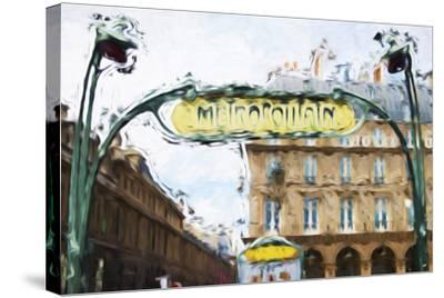 Metropolitain - In the Style of Oil Painting-Philippe Hugonnard-Stretched Canvas Print