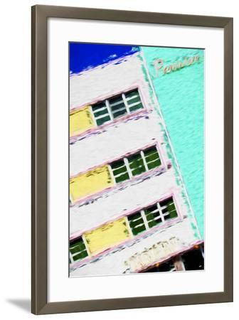 Parisian Colors - In the Style of Oil Painting-Philippe Hugonnard-Framed Giclee Print