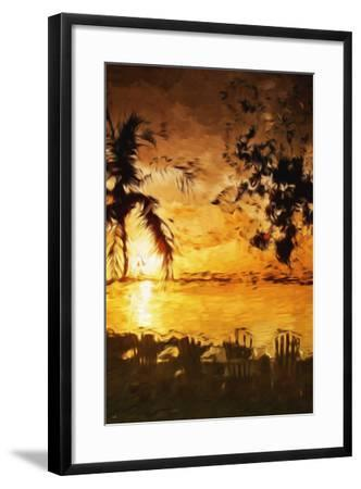 Tranquility III - In the Style of Oil Painting-Philippe Hugonnard-Framed Giclee Print