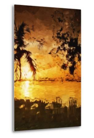 Tranquility III - In the Style of Oil Painting-Philippe Hugonnard-Metal Print