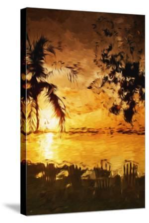 Tranquility III - In the Style of Oil Painting-Philippe Hugonnard-Stretched Canvas Print