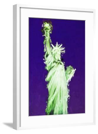 Statue of Liberty VIII - In the Style of Oil Painting-Philippe Hugonnard-Framed Giclee Print
