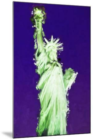 Statue of Liberty VIII - In the Style of Oil Painting-Philippe Hugonnard-Mounted Giclee Print