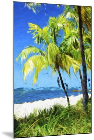 Natural Beach - In the Style of Oil Painting-Philippe Hugonnard-Mounted Giclee Print