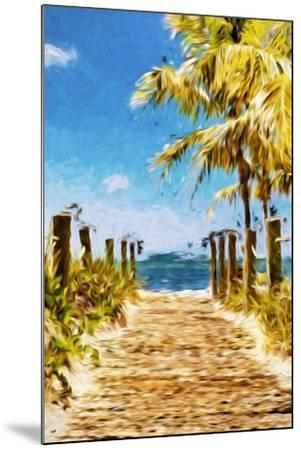 Path to the Beach II - In the Style of Oil Painting-Philippe Hugonnard-Mounted Giclee Print