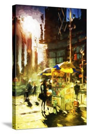 New York Life - In the Style of Oil Painting-Philippe Hugonnard-Stretched Canvas Print
