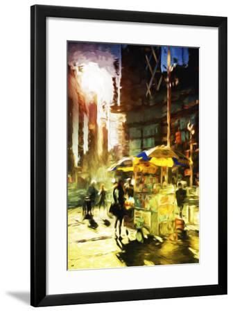 New York Life - In the Style of Oil Painting-Philippe Hugonnard-Framed Giclee Print