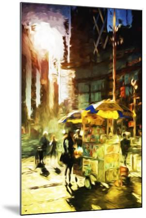 New York Life - In the Style of Oil Painting-Philippe Hugonnard-Mounted Giclee Print