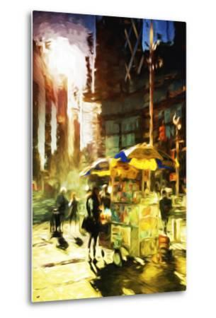 New York Life - In the Style of Oil Painting-Philippe Hugonnard-Metal Print