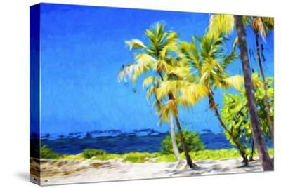 Quiet Beach II - In the Style of Oil Painting-Philippe Hugonnard-Stretched Canvas Print