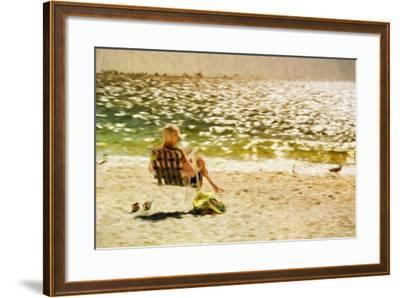 Relaxing Day II - In the Style of Oil Painting-Philippe Hugonnard-Framed Giclee Print