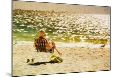 Relaxing Day II - In the Style of Oil Painting-Philippe Hugonnard-Mounted Giclee Print