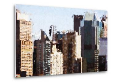 Skyscrapers Collection III - In the Style of Oil Painting-Philippe Hugonnard-Metal Print