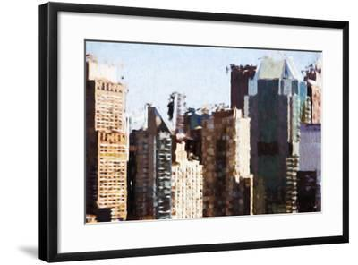Skyscrapers Collection III - In the Style of Oil Painting-Philippe Hugonnard-Framed Giclee Print