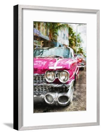 Classic American Car IV - In the Style of Oil Painting-Philippe Hugonnard-Framed Giclee Print