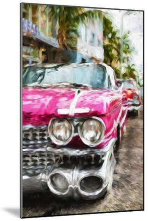 Classic American Car IV - In the Style of Oil Painting-Philippe Hugonnard-Mounted Giclee Print