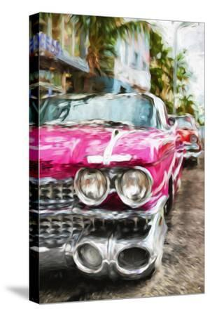 Classic American Car IV - In the Style of Oil Painting-Philippe Hugonnard-Stretched Canvas Print