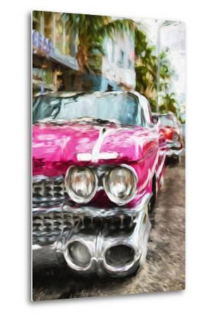 Classic American Car IV - In the Style of Oil Painting-Philippe Hugonnard-Metal Print