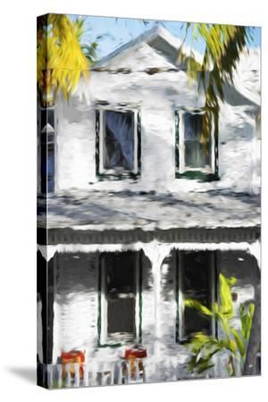 Colonial House V - In the Style of Oil Painting-Philippe Hugonnard-Stretched Canvas Print