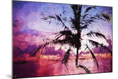 Tropical Sunset II - In the Style of Oil Painting-Philippe Hugonnard-Mounted Giclee Print