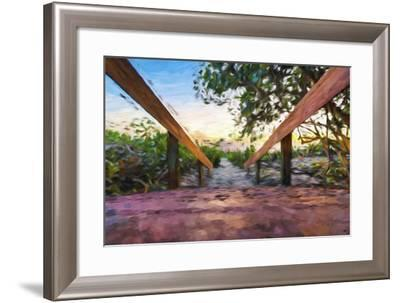 One Way - In the Style of Oil Painting-Philippe Hugonnard-Framed Giclee Print