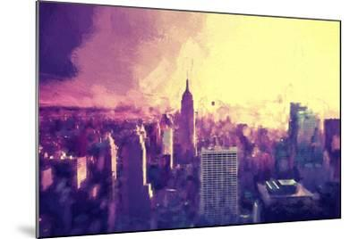 Manhattan Heat II-Philippe Hugonnard-Mounted Giclee Print