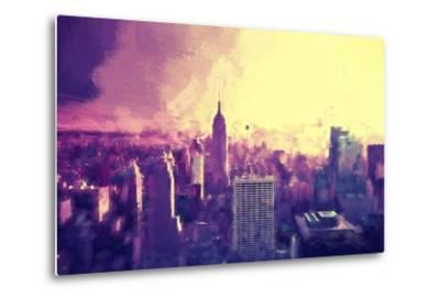 Manhattan Heat II-Philippe Hugonnard-Metal Print