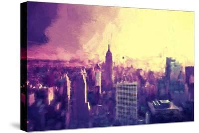 Manhattan Heat II-Philippe Hugonnard-Stretched Canvas Print