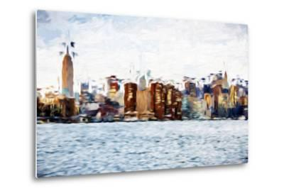 The Skyline II - In the Style of Oil Painting-Philippe Hugonnard-Metal Print