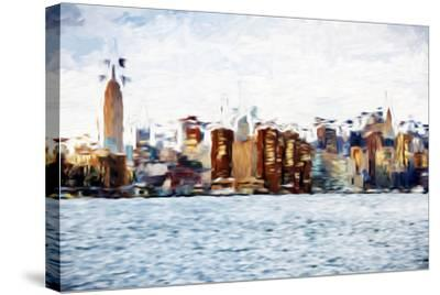 The Skyline II - In the Style of Oil Painting-Philippe Hugonnard-Stretched Canvas Print