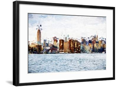 The Skyline II - In the Style of Oil Painting-Philippe Hugonnard-Framed Giclee Print