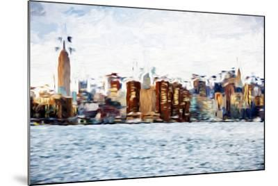 The Skyline II - In the Style of Oil Painting-Philippe Hugonnard-Mounted Giclee Print
